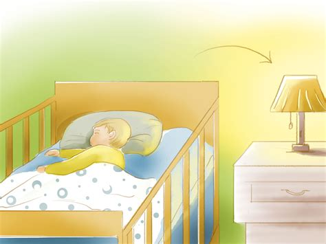 Getting Toddler To Sleep In Crib 4 ways to get a baby to sleep in a crib wikihow