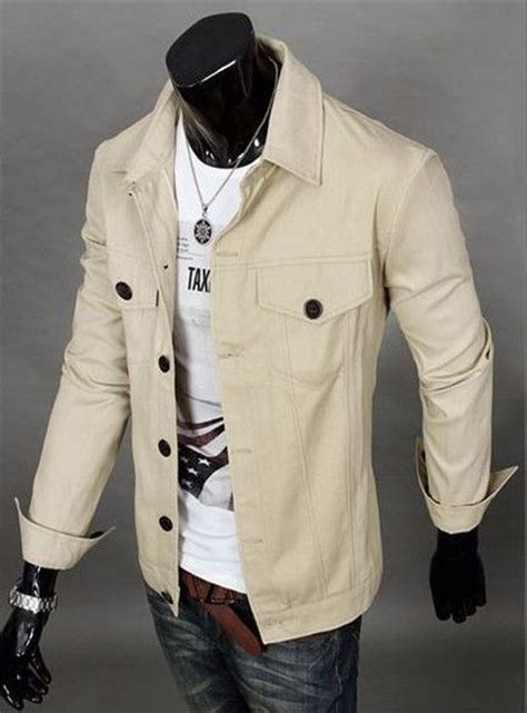 S Fashion Turn Collar Regular Denim Jackets Ou 5 385 best denim jacket images on menswear