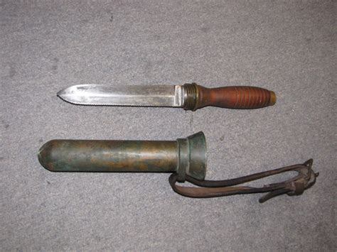 us divers knife antiques and museum uwk 0050 wwii us navy