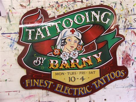 tattoo hand painted signs tattoo parlor interior designers joy studio design