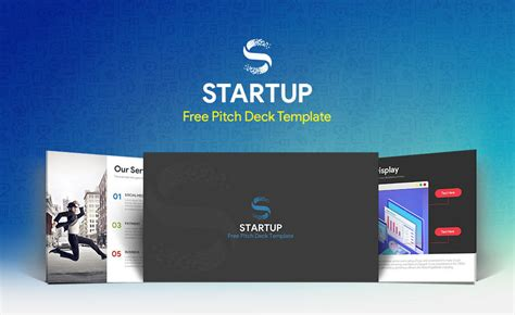 Free Startup Pitch Deck Template For Powerpoint Presentation Pitch Deck Powerpoint Template Free