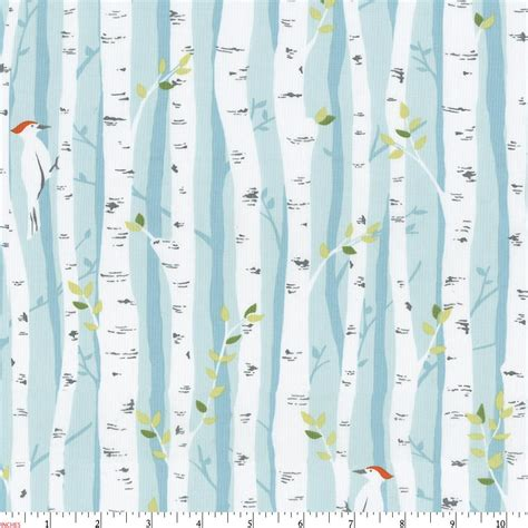 Birch Tree Fabric Curtains Birch Forest Fabric By The Yard Gray Fabric Carousel Designs