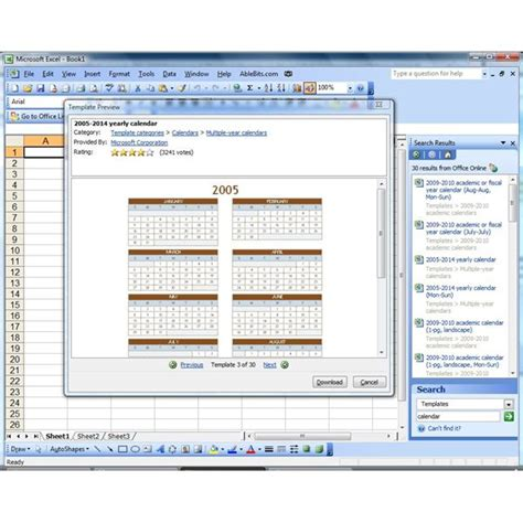 Insert Calendar In Word 2007