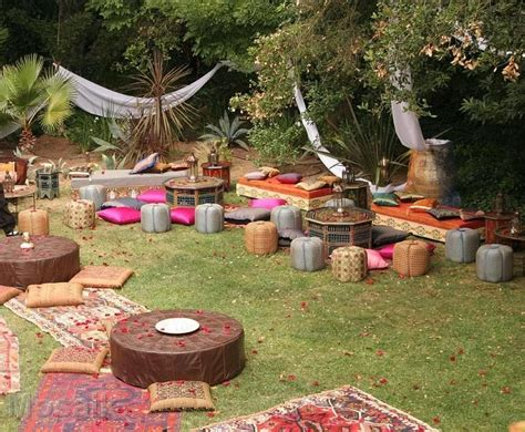 garden themed events bohemian themed event