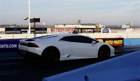 Lamborghini Quarter Mile Lamborghini Huracan Runs 10 8 132 Mph Drag Racing In The