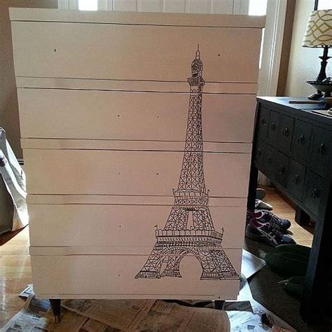 chalk paint bismarck nd hometalk eiffel tower dresser