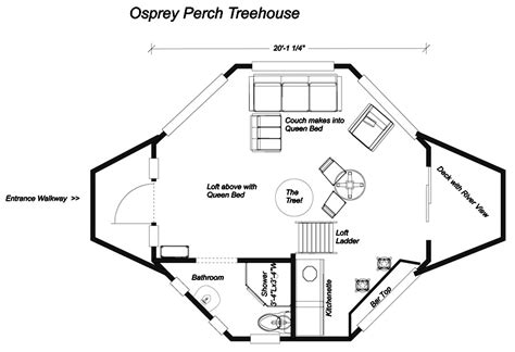 treehouse villa floor plan tree house floor plans numberedtype