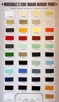 different paint colors marshall s cove brand marine paints