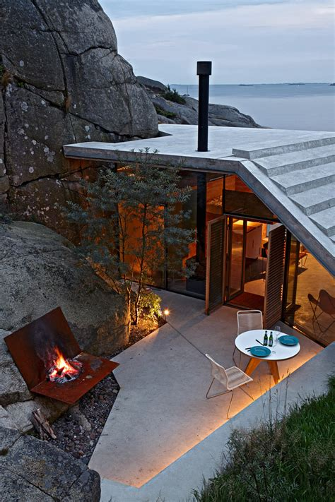 home design shows on bravo seaside cabin on the rocks in norway knapphullet by lund