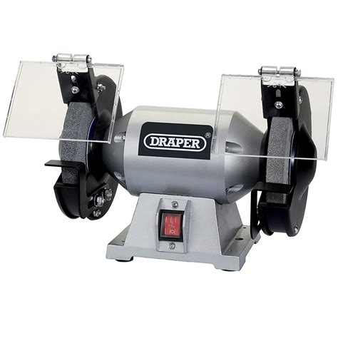 bench grinding machine draper 150mm 230v power bench grinder grinding machine