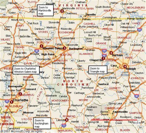 map of cities in carolina list cities towns carolina carolina map