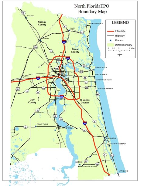 map of st county florida populated places in st johns county florida