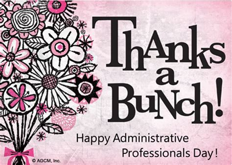 administrative day card template quot administrative professional day quot administrative