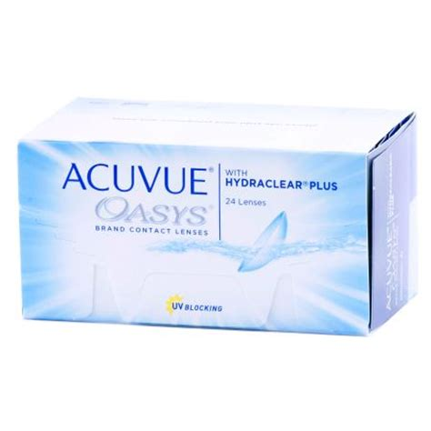 acuvue oasys 24 pack contact lenses by johnson & johnson
