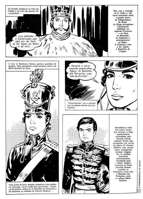 A independênciado brasil em quadrinhos (com imagens