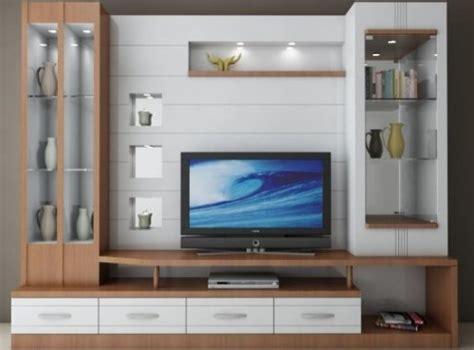 Tv Ukuran Kecil cara membuat desain meja tv minimalis modern