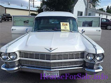 1964 cadillac hearse for sale cadillac other miller meteor cadillac hearse 1964