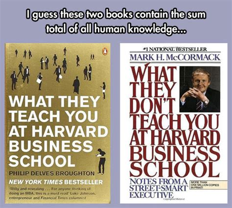 Harvard Mba Books by All You Need Is These Two Books The Meta Picture