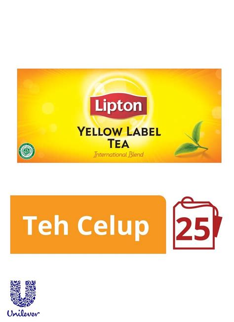 Sariwangi Teh Hitam 25 The Celup lipton teh celup yellow label 25 s envelope box 50g