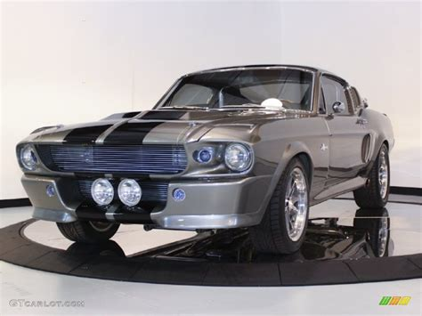 1967 grey metallic ford mustang shelby g t 500 eleanor fastback 60379410 photo 3 gtcarlot