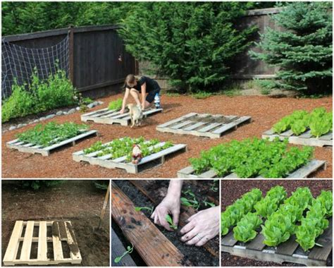 garden ideas with pallets how to diy recycled pallet garden planting tutorial www