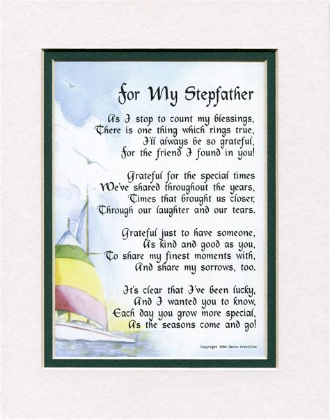 step fathers day poems gifts for gifts for stepfathers fathers day gifts