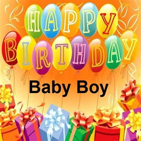Happy Birthday Wishes For Baby Birthday Wishes For Baby Boy Nicewishes Com