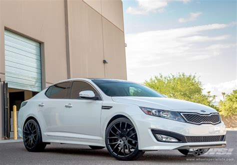 Rims For 2013 Kia Optima 2013 Kia Optima With 20 Quot Giovanna Kilis In Matte Black