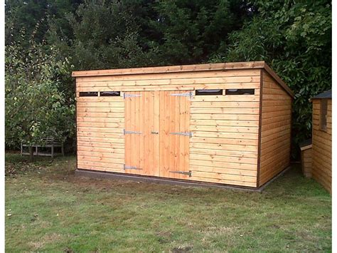 Garden Shed Security by With Height Doors