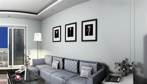 graue wand wohnzimmer living room gray sofa 3d house