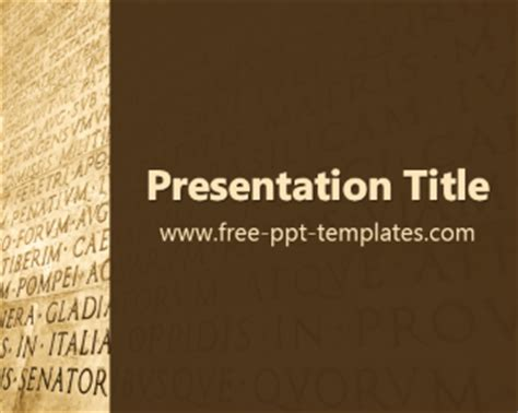 powerpoint templates free language latin ppt template free powerpoint templates