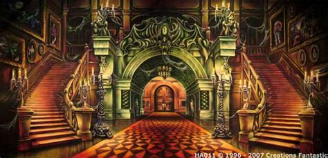 haunted house interior the haunted mansion is a haunted house dark ride located at disneyland magic kingdom