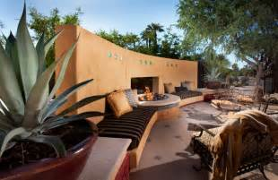 hacienda modern outdoor dining banco southwestern patio phoenix by bianchi design