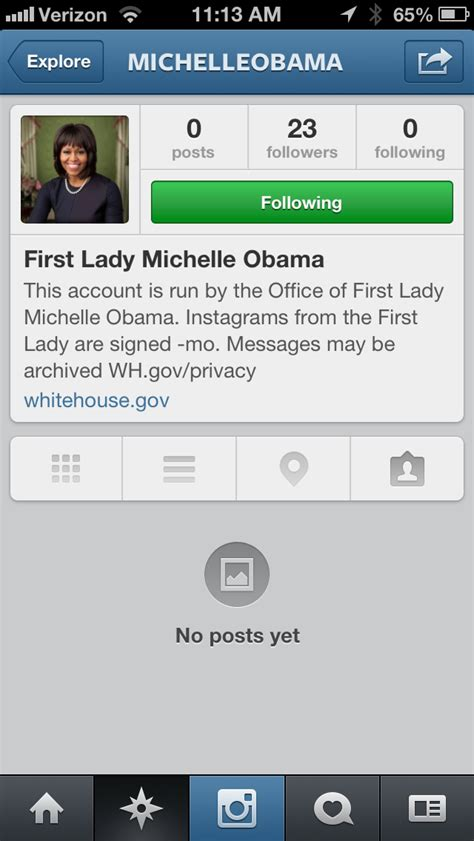 bio instagram posts michelle obama s instagram is here photos huffpost