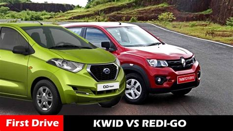 is nissan owned by renault renault kwid vs nisan redi go compare and features