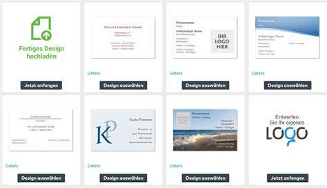 Word Vorlage Visitenkarten 85x54 visitenkarten erstellen so geht s kostenlos mit freeware