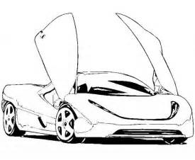 car pictures to color free sports cars coloring pages