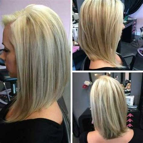 shoulder length inverted bob haircut over 50 20 short to mid length haircuts short hairstyles 2016
