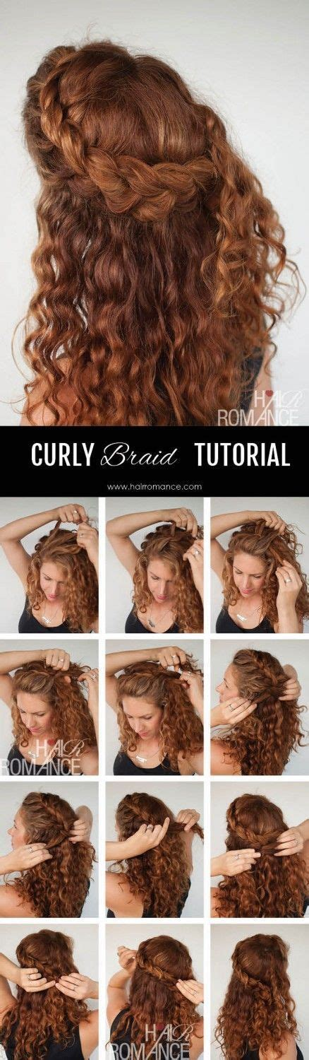 diy hairstyles for thick curly hair 1000 images about diy hairstyles for curly hair on