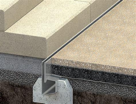 terrasse gefälle schlitzrinne typ ino 660 sr