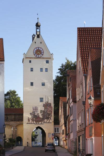 ulmer tor gate memmingen unterallgaeu district allgaeu