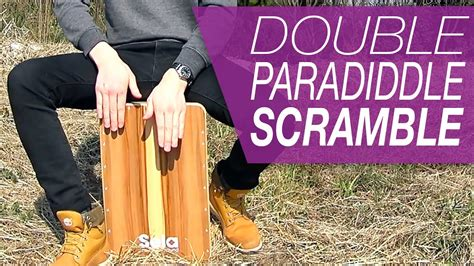cajon tutorial cajon tutorial crazy paradiddle on cajon youtube