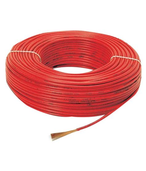house wiring red wire buy finolex house wire red online at low price in india snapdeal