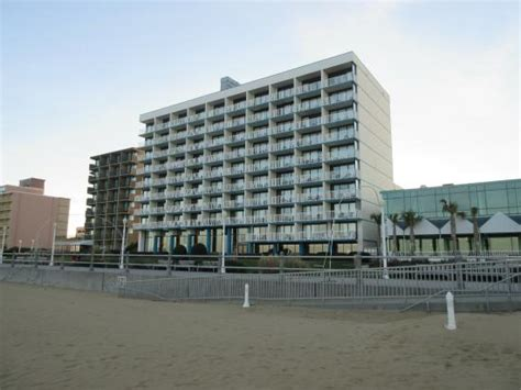 comfort inn suites oceanfront virginia beach hotel from beach picture of comfort inn suites