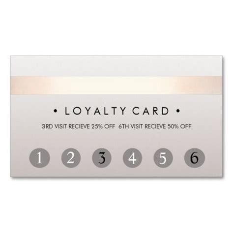 salon punch card template salon 6 punch customer loyalty card loyalty cards