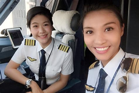 commercial woman pilot in a relatively male dominated field female pilots are