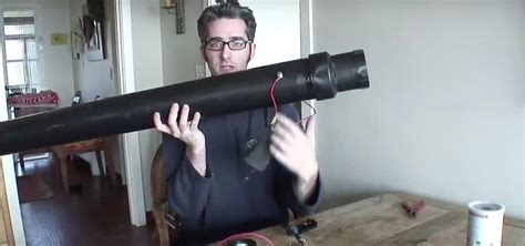 How To Make A Mini Cannon Out Of Paper - how to make an apple cannon and a pumpkin bazooka