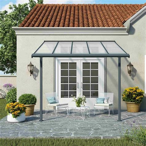 Palram Patio Covers by Palram Patio Cover Grey Garden