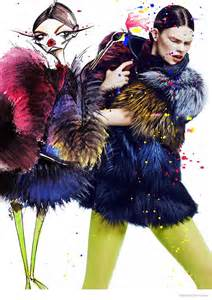 mittendorf doubles up in fur for fashion by chris
