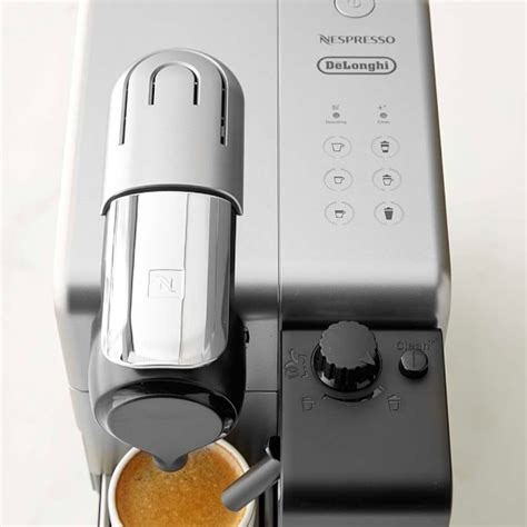 delonghi lattissima touch delonghi nespresso lattissima touch espresso maker williams sonoma